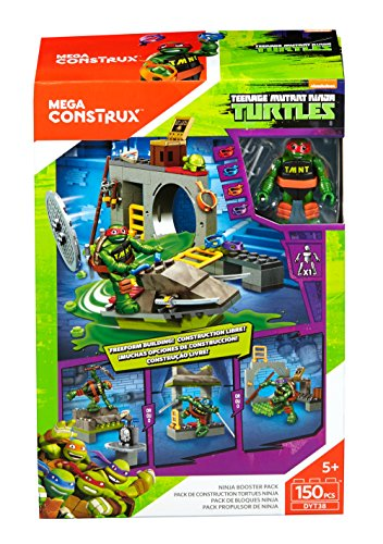 Mattel Mega Bloks dyt38 - Cons Trux Teenage Mutant