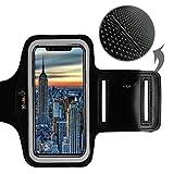 iPhone X Étui Brassard Coque - KHOMO Brassard Noir Sport avec Protecteur D'Ecran et...
