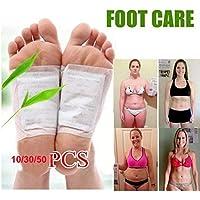XDLiu Gewicht Verlust Artefakt Detox Foot Pads Patch Entgiften Toxine mit Klebstoff Halten Health Care, 50pcs preisvergleich bei billige-tabletten.eu