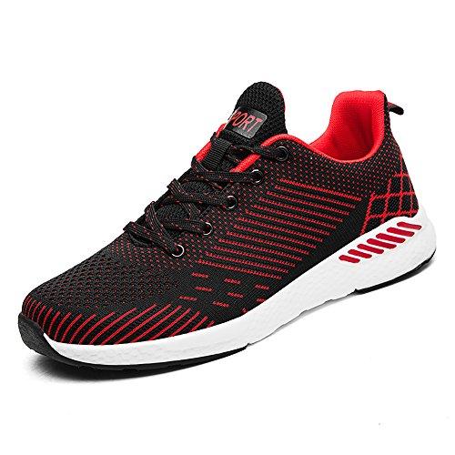 Easondea Scarpe da Corsa Paia Leggera Maglia Traspirante Palestra Camminata Cross-Training Calzature Sportive Uomo Donna Sneakers