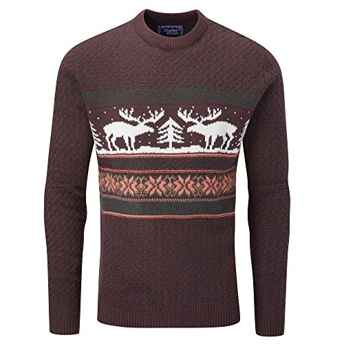Charles Wilson Novelty Christmas Jumper for Men - many designs and colours