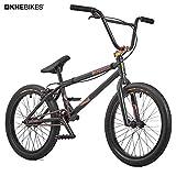 KHE Bicicletta BMX Silencer BL Oil Slick NERO solo 10,0kg.