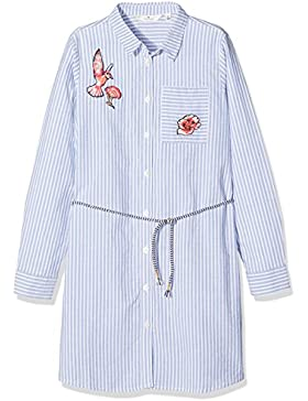 Tom Tailor Kids Striped Shirt Dress with Belt, Vestido para Niñas