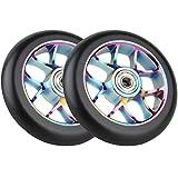 Best 2 ruedas Scooters - Vokul 110mm Pro Kick Stunt Scooter ruedas con Review