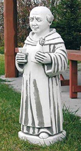 dom-perignon-s420-monch-geistlicher-mann-gartenfigur-skulptur-statue-steinguss-82-cm