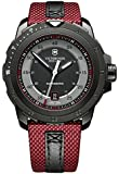Swiss Army Alpnach 241686 44mm Automatic Ion Plated Stainless Steel Case Multicolor Cloth Synthetic Sapphire Men's Watch