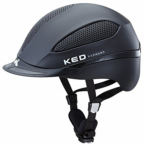 KED Reithelm Paso L Black Matt 57-62 cm - 16555071L