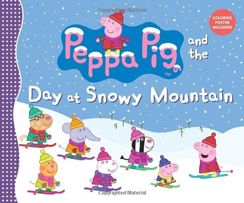 Peppa Pig and the Day at Snowy Mountain (Peppa Pig Adventure)