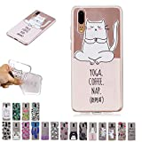 V-Ted Coque Apple iPhone XR Licorne Yoga Silicone Ultra Fine Mince Bumper Housse Etui...