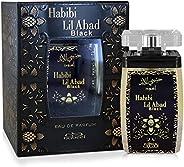 Nabeel Perfumes Habibi Lil Abad Black Eau De Perfume For Unisex - 100 ml