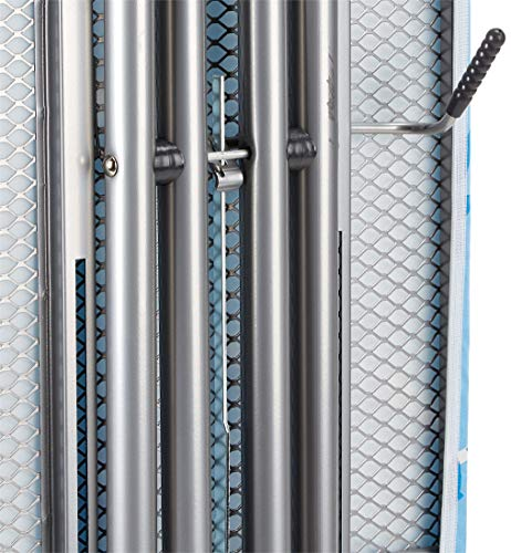 Vileda Viva Express Eco Bügeltisch blau – 120×38 cm große, dampfdurchlässige Bügelfläche – Anti-Rutsch-Füße für mehr Halt auf glatten Böden - 4