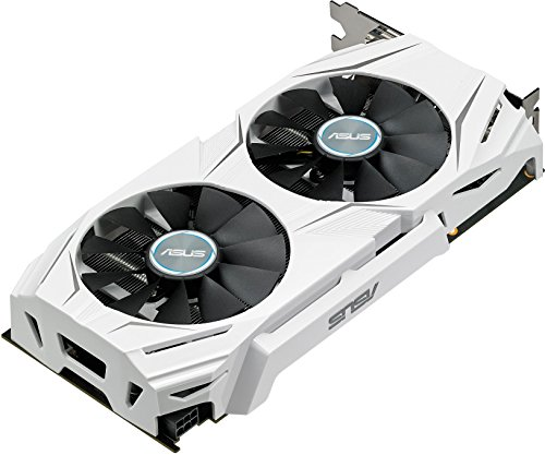 Asus Dual-GTX1060-O6G Gaming Nvidia GeForce Grafikkarte (PCIe 3.0, 6GB GDDR5 Speicher, HDMI, DVI, Displayport) - 6