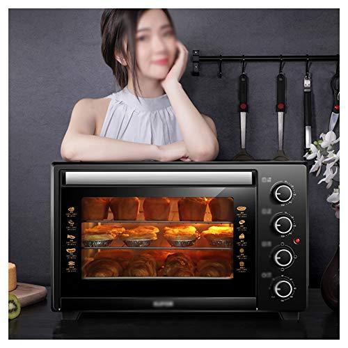 HARDY-YI Backöfen-Mini-Ofen mit Grill , 35 Liter Toaster-Ofen mit schnellem Erhitzen , Kochfunktionen , Inklusive Grillrost und Backblech (Schnelle Toaster Ofen)