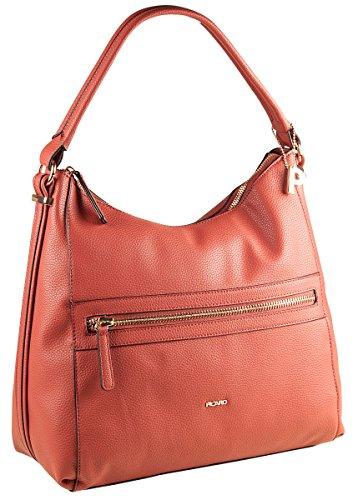 PICARD Pleasure 2486 Tasche Damen Schultertasche Handtasche 33x33x15 cm (BxHxT), Farbe:Silber Sienna