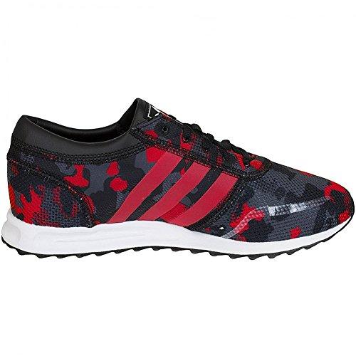 adidas Los Angeles J 311 Junior Sneaker (Camouflage Rosso/Core Black) Schwarz/Rot
