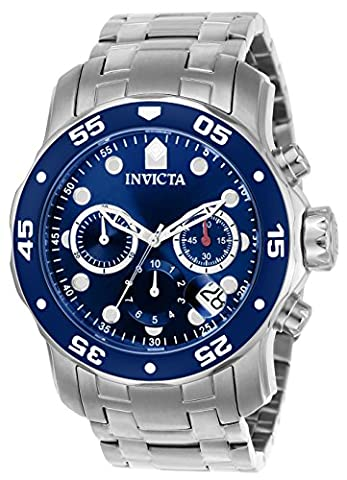 Invicta Herren-Armbanduhr Quarz Chronograph 0070