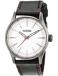 Nixon Unisex-Armbanduhr Analog Quarz Leder A377486