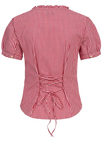 New Pia Almsach Bluse Rot