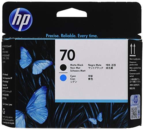 HP C9404A Tintendruckkopf Nr. 70 cyan/schwarz - B9180 Photosmart Hp
