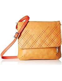 Baggit Women's Cosmetic Bag (Mustard)