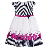 Yashasvi Girl's Mix print Cotton Dress
