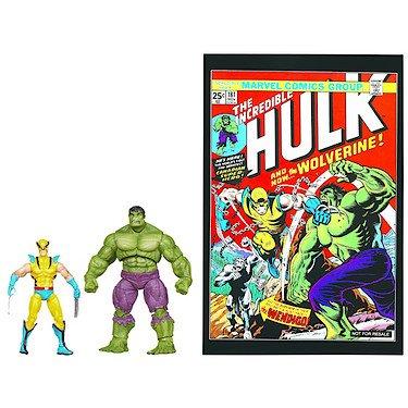 Marvel Universe Comic Pack - Wolverine vs. Hulk Figuren [UK Import]
