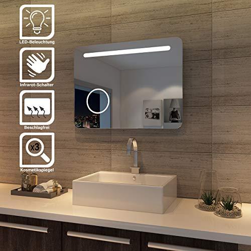 Sunnyshowers LED baño Espejo 80x 60cm wandspiegel