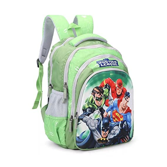 HMI Original Licensed Justice League 21 Ltrs Multi-Colour School Backpack (HMHISB 30710-JL)