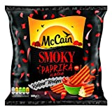 McCain Foods Smoky Paprika Ridge Cut Wedges, 600g (Frozen)