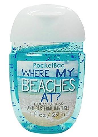 Bath & Body Works PocketBac - Where My Beaches At ? - Gel anti-bactérien