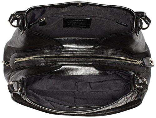 33523SVDK6 Coach Sac à bandoulière Femme Tissu Noir Noir