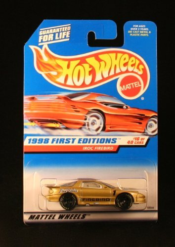 Hot Wheels 1998 First Editions Series (#16 of 40) True Value's #1 IROC Firebird Collector Car #653 by Hot Wheels