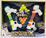 Crown Crest Lanard Toys BallistX Blaster Foam Ball Pump Action Shooter Target Game