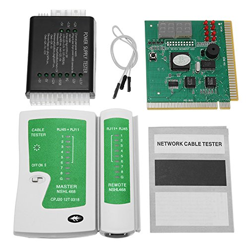 RanDal Pc Network Test Kit Motherboard Post Analyzer Computer Power Supply Network Cable Tester - Netzwerk-kabel-analyzer