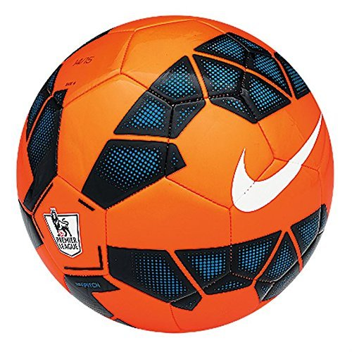 Preisvergleich Produktbild Nike Ball Pitch, Orange/Black/Proc Blue/White, 5, SC2400-841