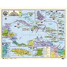 Macmillan Caribbean Wall Map - Paper Edition (Macmillan Caribbean Wall Maps)