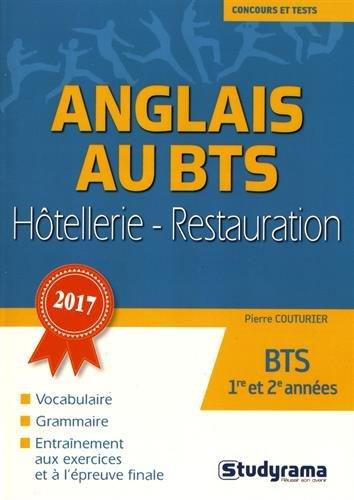 L'anglais au BTS hôtellerie-restauration par Pierre Couturier