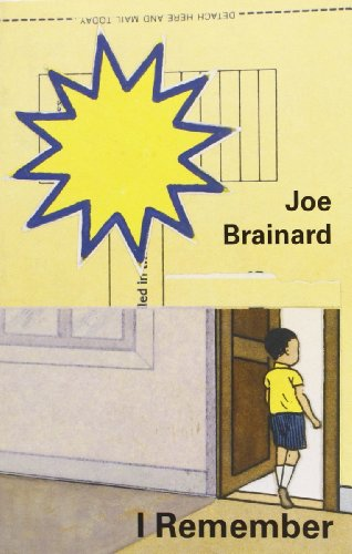I Remember por Joe Brainard
