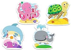 TREFL-Puzzle Baby Los Animales del Océano 2-3-4-5Piezas, 36055u