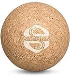 SAPURA Cork massage ball ✓ deep tissue ✓ lacrosse ball 7cm ✓ triggerpoint massage ✓ natural trigger ball