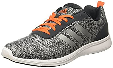 Adidas Mens Mesh Laceup Sports Shoes_Grey_10