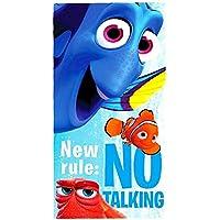 Disney Nemo Toalla de playa/toalla, 70 x 140 cm, Original licencia oficial