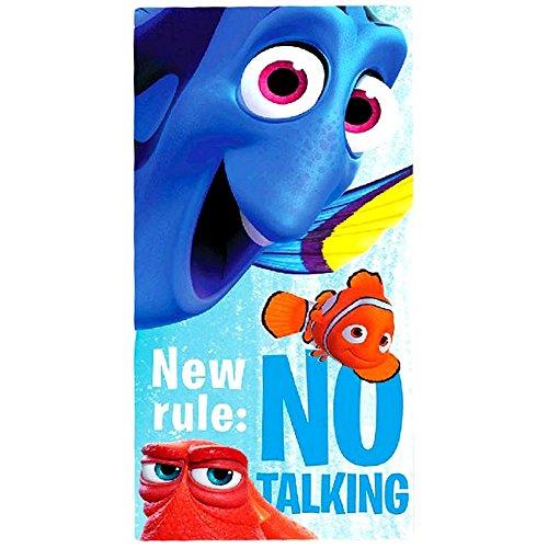 Disney Nemo Serviette de plage/Drap de bain 70x 140cm, original sous licence