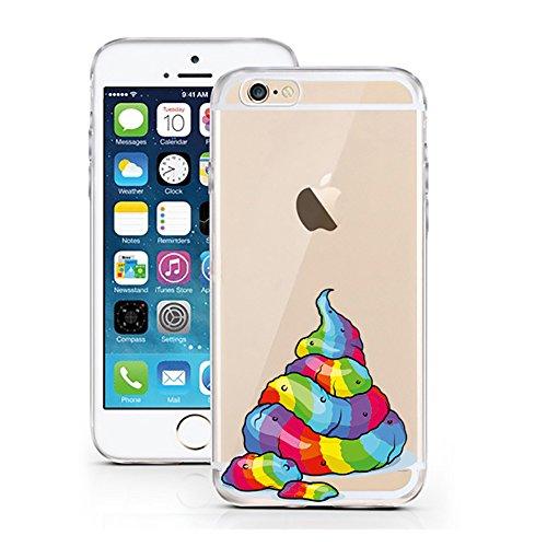 """licaso® iPhone 6 6S 4,7"""" TPU Schneewittchen Hülle Disney Case transparent klare Schutzhülle Disney Hülle iphone6 Tasche Snow White Case (Schneewittchen) Einhorn Wurst"""