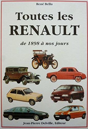 Toutes les Renault de 1898  nos jours