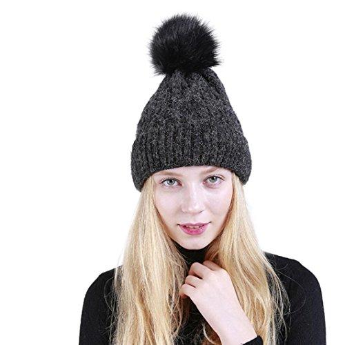 Hut, greatestpak Frauen Hut Winter Hut Warm Hut Warm Hut flauschigen Borsten