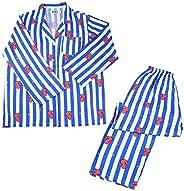 2 Piece Set BTS Sleepwear BT21 Pajama Sets Cartoon Version Kawaii Same Harajuku Pajamas Set Women Long Sleeve