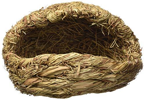 uxcell Stubenwagen Form Pet Synthetik Stroh Living Nest, beige