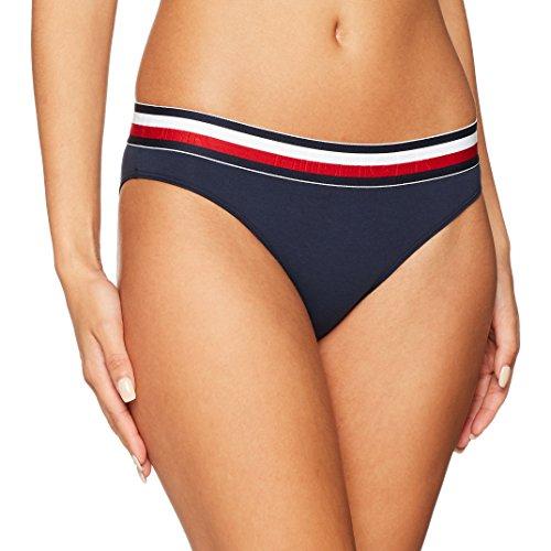 Tommy Hilfiger Bikini Donna, Blu (Navy Blazer 416), 40 (Taglia Produttore: LG)