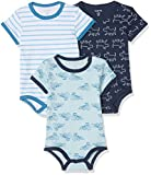 Care Baby - Jungen Body 550126, 3er Pack, Gr. 56, Blau (Blue 769)